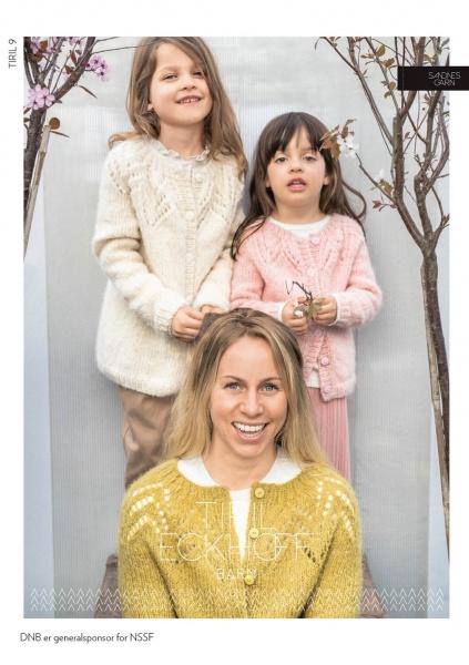 TIRIL 9 Tiriljakke med hullmønster til barn Grete AS