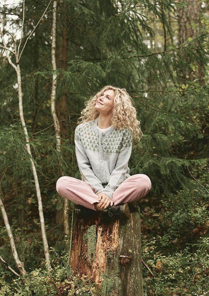 Cecilie Skog # 2 Trær jakke dame Grete AS