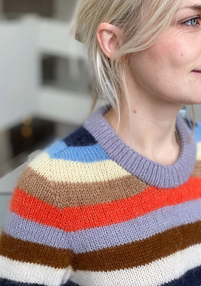 stripete genser barn Arkiv HipKnitShop